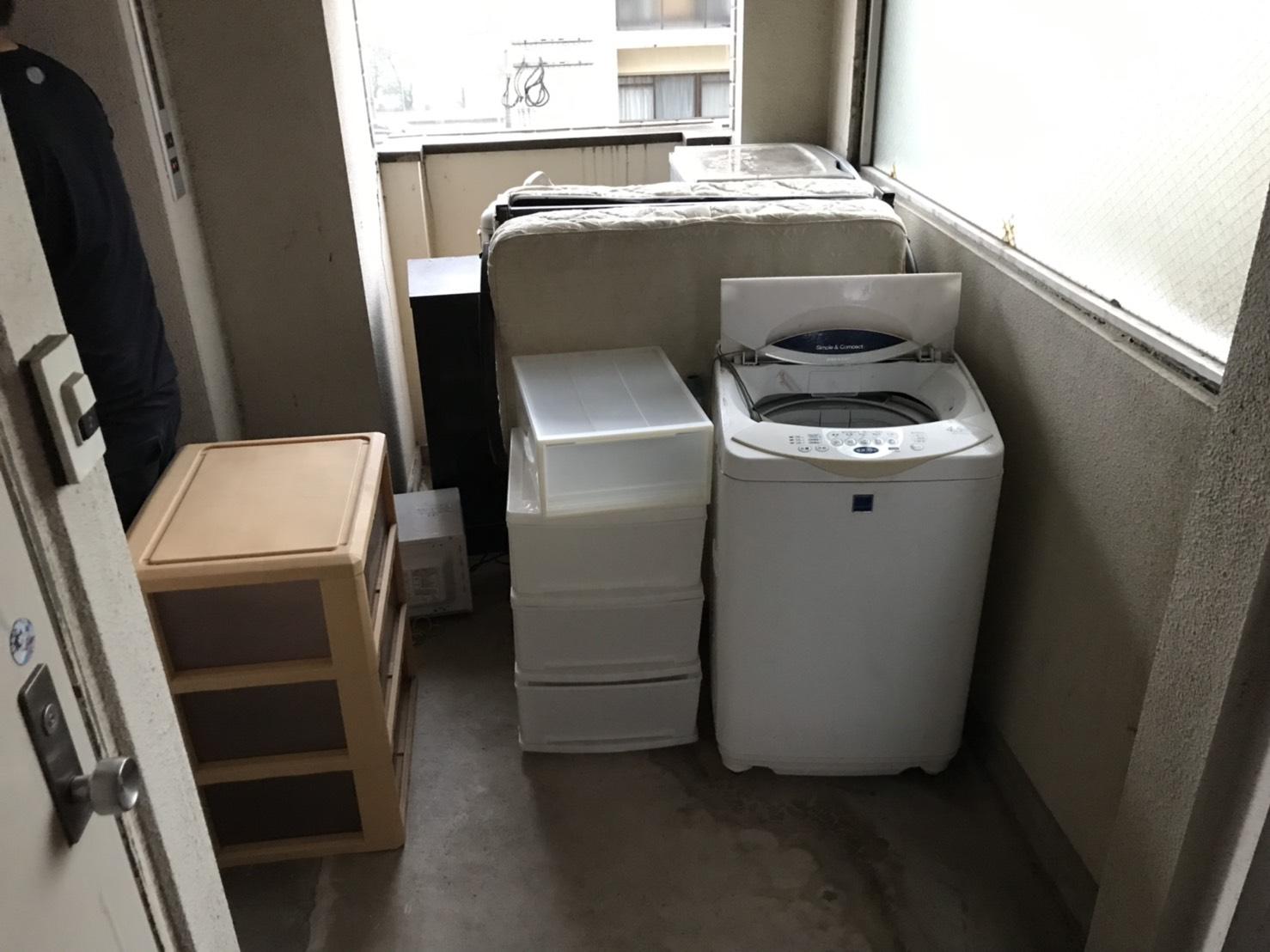 山口洗濯機不用品